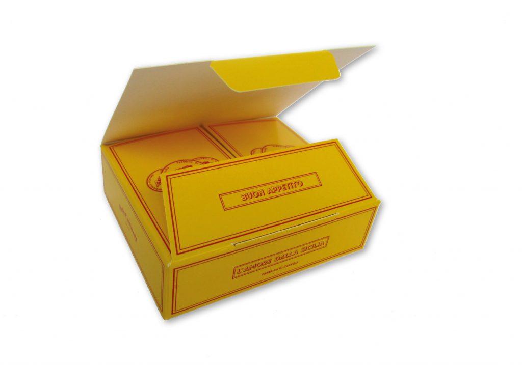 Bonbondoosje voor 2 bonbons met autolock 105x60x30 mm